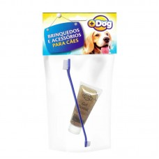20264 - KIT GEL DENTAL MAIS DOG CHOCO C/ESCOVA