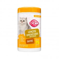 20794 - LENCO UMEDECIDO MAIS CAT GATOS C/75