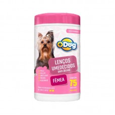 20619 - LENCO UMEDECIDO MAIS DOG FEMEA C/75