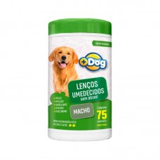 20618 - LENCO UMEDECIDO MAIS DOG MACHO C/75
