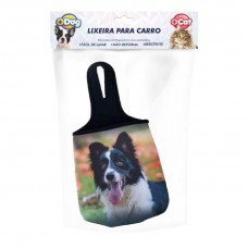 24465 - LIXEIRA NEOPRENE P/CARRO BORDER COLLIE