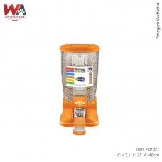 21998 - DISPENSER DOMESTICO LARANJA 18L