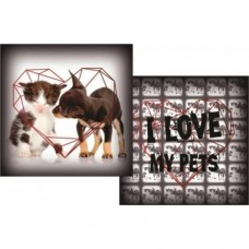 16595 - ALMOFADA I LOVE MY PET M (48X48)