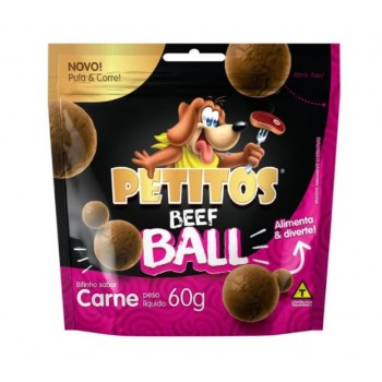 PETITOS BEEF BALL CARNE 60GR