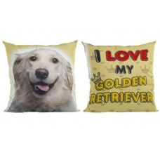16553 - ALMOFADA GOLDEN RETRIEVER G (58X58)